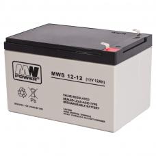 Akumuliatorius MWPower VRLA  AGM 12Ah 12V