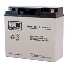 Akumuliatorius MWPower VRLA  AGM 18Ah 12V