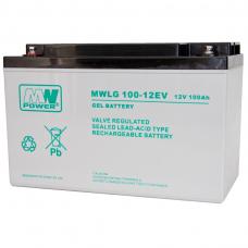 Akumuliatorius MWPower VRLA GEL 100Ah 12V