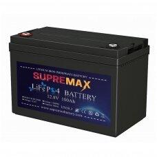 Akumuliatorius SUPREMAX LiFePO4 12.8V100Ah