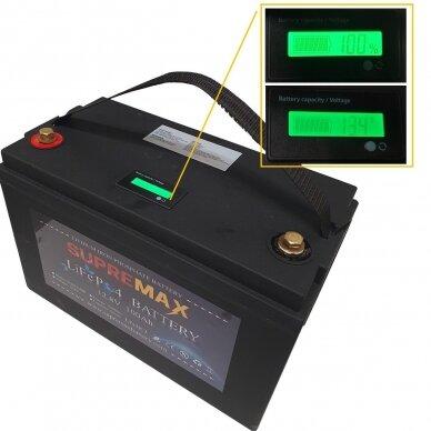 Akumuliatorius SUPREMAX LiFePO4 12.8V100Ah 2
