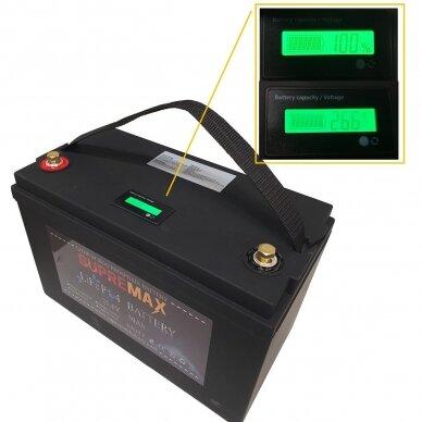 Akumuliatorius SUPREMAX LiFePO4 25.6V50Ah 2