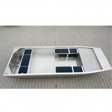 Aliuminė plokščiadugnė valtis BREMA-430