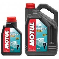Alyva MOTUL TECHNOSYNTESE OUTBOARD OIL TECH 2T-TCW3 1 L.