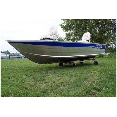 Aliuminė valtis Marine Fish Range 400 De Luxe 12