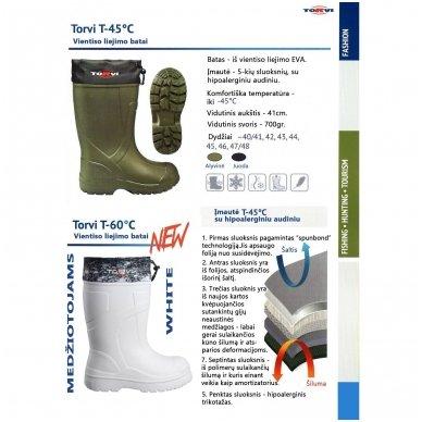 Batai TORVI -60°C WHITE 2