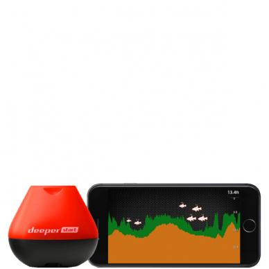 Deeper Start Smart Fishfinder Orange/Black, Sonar 3