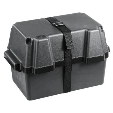 """Dėžė akumuliatoriui """"Nuova Rade"""" (iki 100Ah, 431x257x256mm)"""