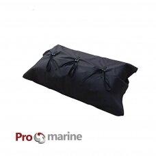 Didelis nešimo krepšys-vokas suveržiamas diržais (600D Oxford dengta PU, pripučiamoms valtims)