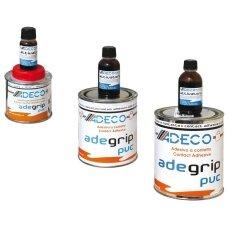 Dvieju komponentu PVC klijai ADEGRIP, 500 ml. su stand.