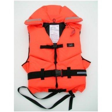 Gelbėjimo liemenė Wallys jūrinė , 50-70 kg. 100N