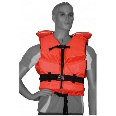 Gelbėjimo liemenė Wallys jūrinė , 50-70 kg. 100N  2