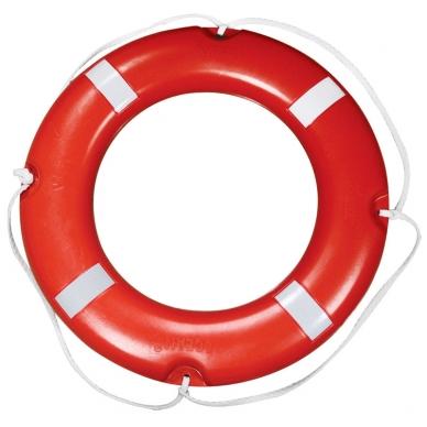 "Gelbėjimo ratas ""Lalizas"" (SOLAS, CE, atšvait, 2,5 kg, diam 73cm)"