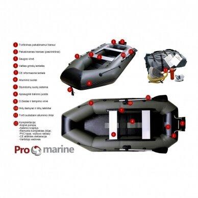 Irklinė pripučiama valtis ProMarine IBP260, Ilgis 260cm 5