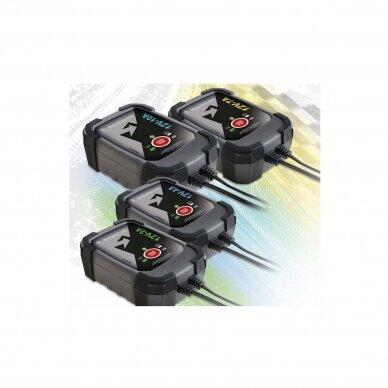 Išmanus akumuliatoriaus įkroviklis Accu Smart 12V/7A 4