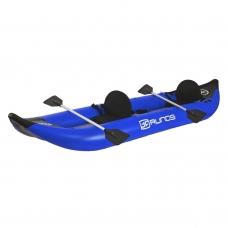 Kajakas PVC pripučiamas (mėlynas) 420 cm. airdek dugnu