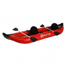 Kajakas PVC pripučiamas (raudonas) 420 cm. airdek dugnu