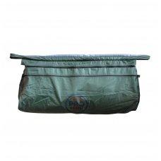 Krepšys tvirtinamas po suolu 360/380 valtims