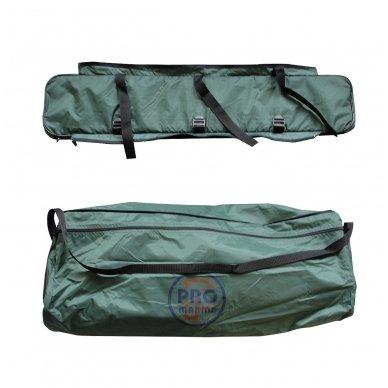 Krepšys tvirtinamas po suolu 400/430 valtims 2