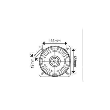 Laivo sėdynės sukiojimo mechanizmas Oceansouth 175mm 3