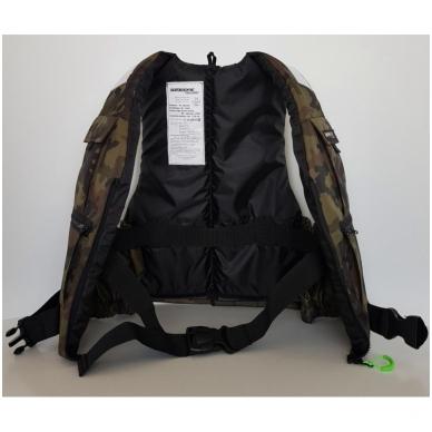 Liemenė gelbėjimuisi komufliažinė 60-80 kg. 50N 4