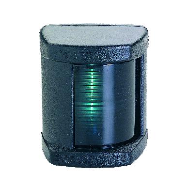 "Navigacinė šviesa ""Lalizas"" Classic LED 12 (Starboard light 112,5°, 12-24V,juoda apd.)"