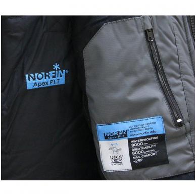 """Neskestantis žieminis kostiumas """"NORFIN Apex FLT"""" 3"""