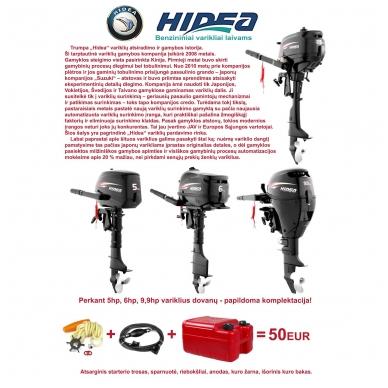 """Pakabinamas variklis """"HIDEA"""" HDF6 (4T, 6AG) 3"""