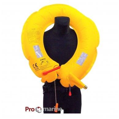 Pripučiamas gelbėjimosi diržas-ratas (150N, mėlynas) 4