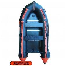 PVC valtis ProMarine Deluxe (dugnas plokštė, ilgis 360 cm, orange-black)