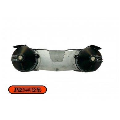 PVC valtis ProMarine Deluxe DAL320 Grey/Black 5