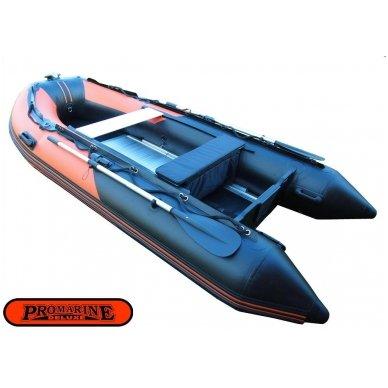 PVC valtis ProMarine Deluxe DAL380 Orange/Black 2