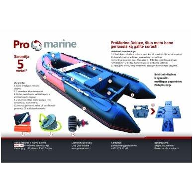PVC valtis ProMarine Deluxe DAL380 Orange/Black 5
