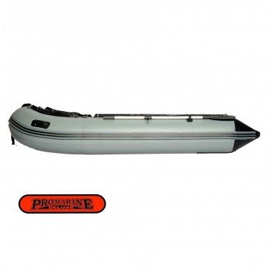 PVC valtis ProMarine Deluxe (dugnas plokštė, ilgis 320 cm, pilka -juoda spalva) 2