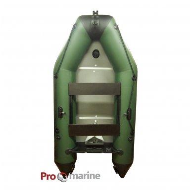PVC valtis ProMarine IBT265PW (dugnas medžio plokštės, ilgis 265, žalia) 2