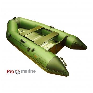 PVC valtis ProMarine IBT285PW (dugnas medžio plokštės, ilgis 285, žalia)