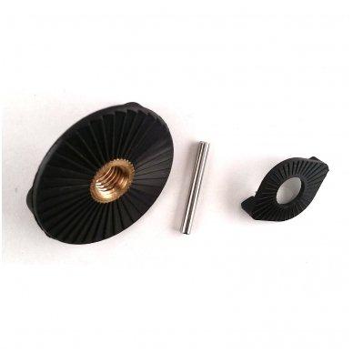 """Rinkinys (sraigto veržlė, poveržlė, 3mm. vielokaištis) """"ProMarine"""" (Pin + knob) 3"""