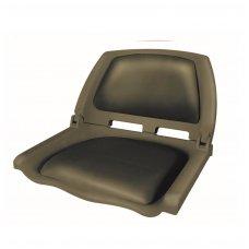 Sėdynė plastikinė su paminkštinimu ProMarine (Ruda)