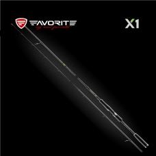 Spinning rod FAVORITE X1 Travel
