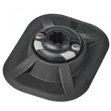 Užraktas klijuojamas Railblaza 150mmx110 mm juodas