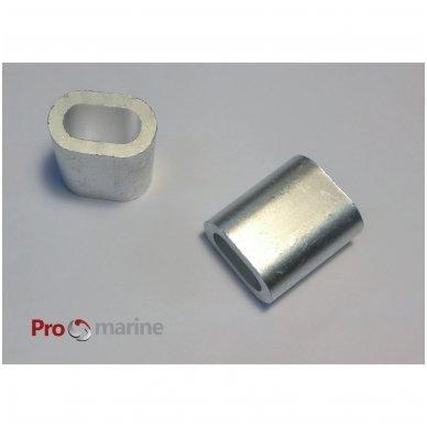 Virvės užspaudimo žiedas ( Ferule 10 mm)