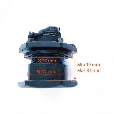 Vožtuvas vandens išleidimo (ø45mm) 30